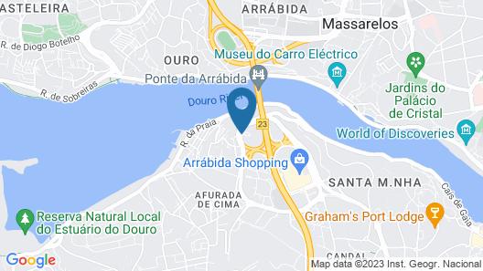 ibis budget Porto Gaia Map