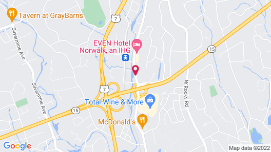 Extended Stay America Suites Norwalk Stamford Map