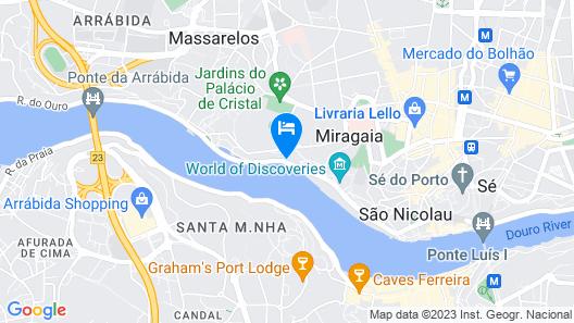 Neya Porto Hotel Map