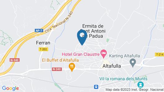 Oreneta Map