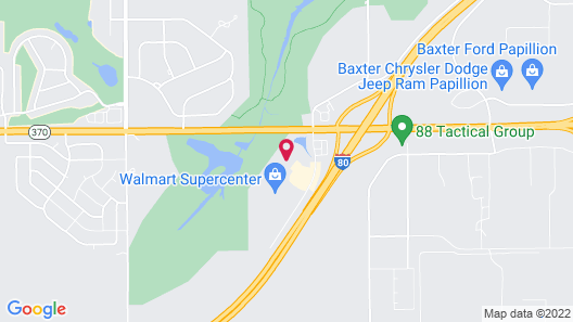 Holiday Inn Express & Suites Omaha I-80, an IHG Hotel Map