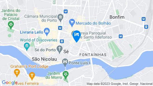 Torel Palace Porto Map