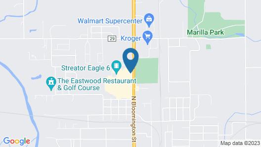Starved Rock Motor Inn Travelodge by Wyndham Map