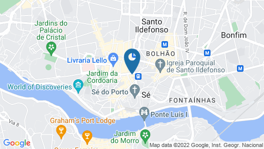 InterContinental Porto - Palacio das Cardosas, an IHG Hotel Map
