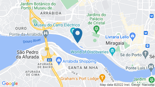 House With 3 Bedrooms in Porto, With Enclosed Garden and Wifi - 4 km From the Beach Map