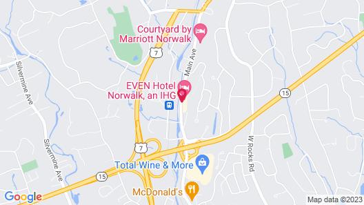 EVEN Hotel Norwalk, an IHG Hotel Map