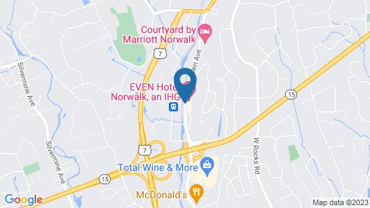 EVEN Hotel Norwalk Map