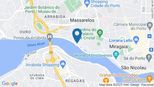 Vincci Porto Map