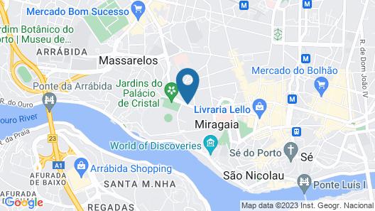 Oporto Loft Map