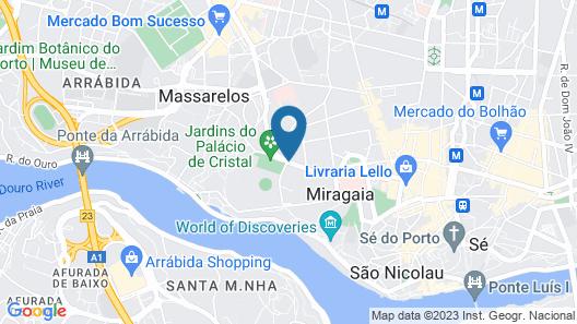 Porta Azul Map