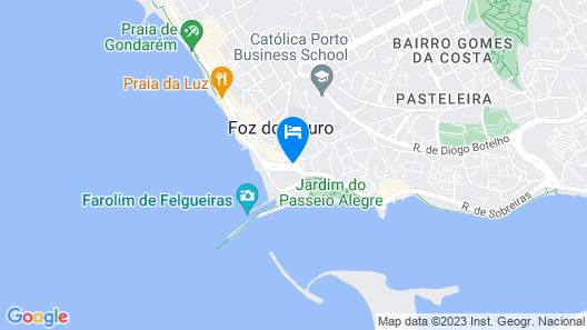 Hotel Boa-Vista Map