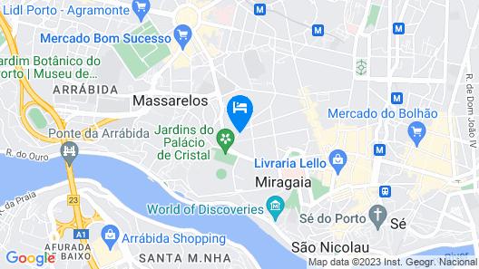 bnapartments Palacio Map