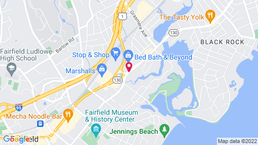 The Circle Hotel Fairfield Map