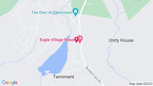 Eagle Village Resort Map