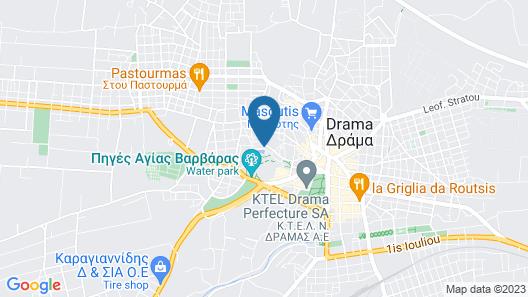 Hydrama Grand Hotel Map