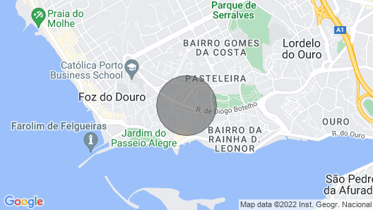 Porto RED Tower - 3 Bedroom 7 Guests Map