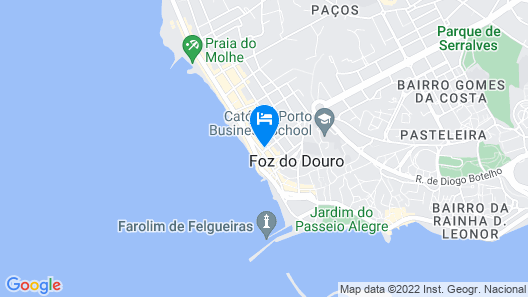 Boutique Holiday Home in Foz do Douro,porto With Sea Nearby Map
