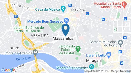 HF Ipanema Porto Map
