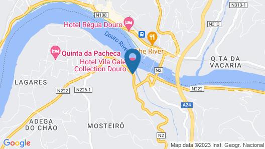 Vila Gale Collection Douro Map