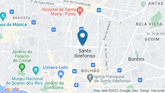 Yotel Porto Map