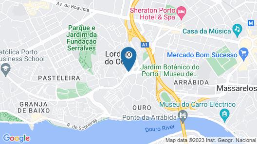 HF Ipanema Park Map