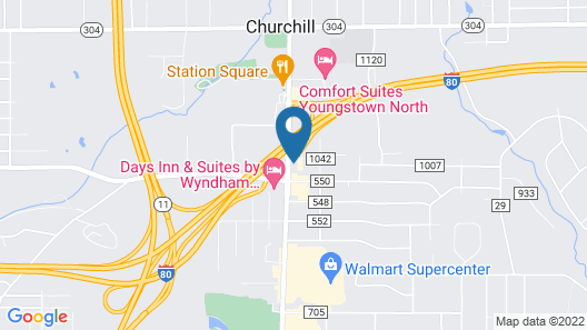 Baymont by Wyndham Youngstown Map