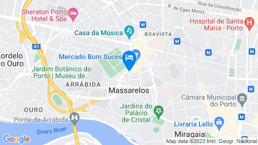 HF Tuela Porto Map