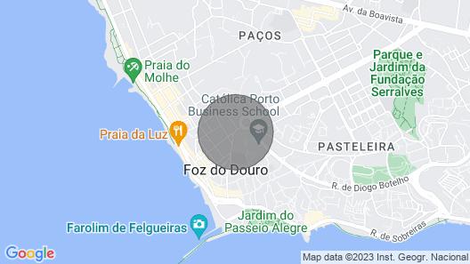 Casinha da Foz - Neighbor to the Beach Map