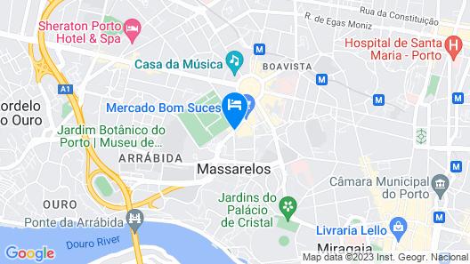 HF Fénix Porto Map