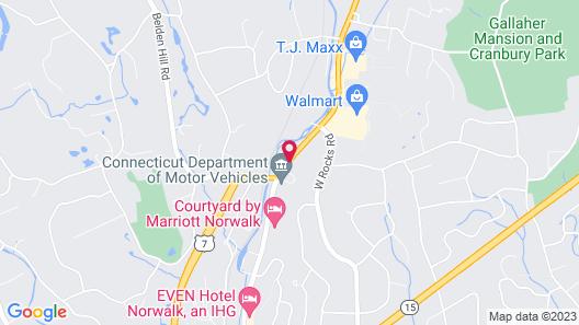 Hilton Garden Inn® Norwalk Map