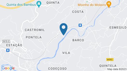 Quinta do Rio Sousa Map