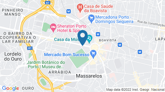 Porto Deluxe Guesthouse Map