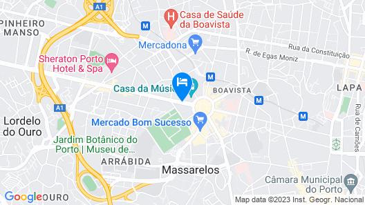 FMO Apartments Boavista Map