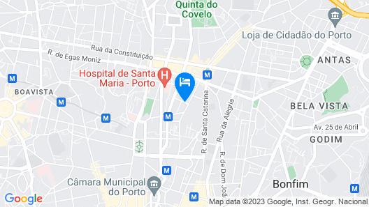 Hotel Grande Rio Map