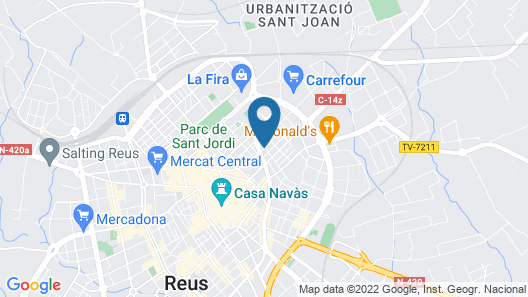 Apartaments Residencial Clàudia Map