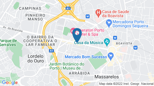 Porto Palácio Hotel & Spa – S. Hotels Collection Map
