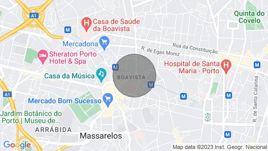 Boa Vista Apartment-spacious 1 Bedroom Apartment 6 Minutes Walk From Casa d Map