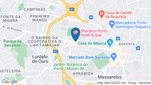Crowne Plaza Porto, an IHG Hotel Map