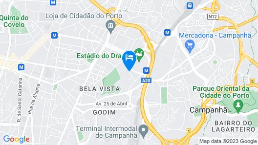 Porto House _Dragão_ Map