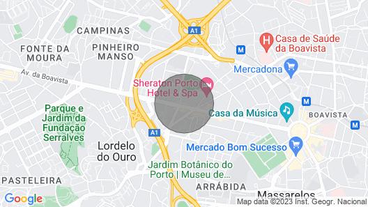 PortuLiving Bessa CharmingApartment - free Park Map
