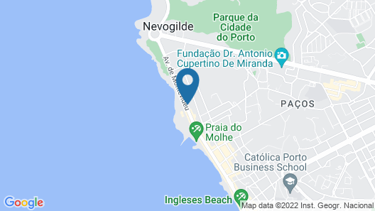 Vila Foz Hotel & SPA Map