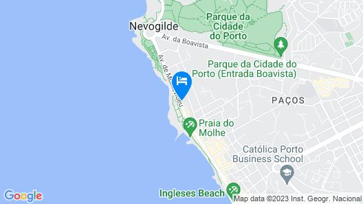 Vila Foz Hotel & SPA Map