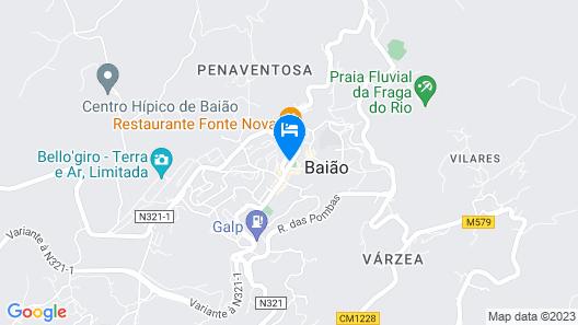 Akivillas Baião Apex Map
