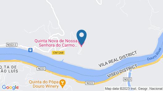Quinta Nova Winery House - Relais & Châteaux Map