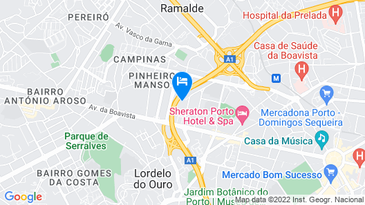 Porto Prestige Flat Map