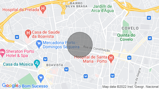 Guestready - Sevenhouse Room Casa da Música Map