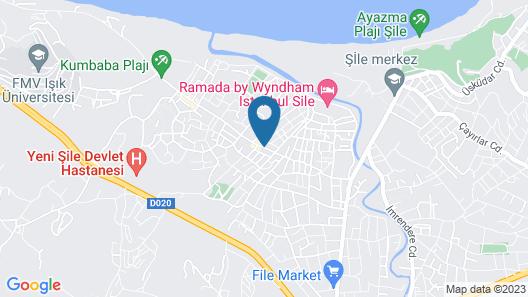 Sile Kumsal Butik Hotel Map