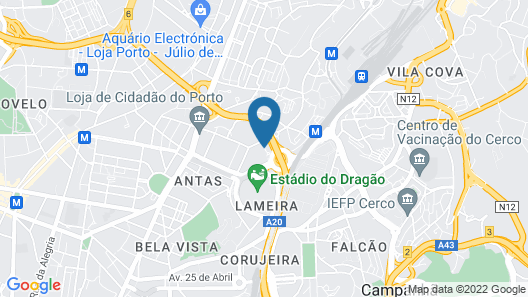 AC Hotel Porto by Marriott Map