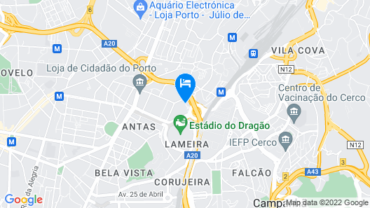 AC Hotel Porto by Marriott Map