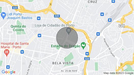Fado Oporto Apartment Map